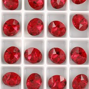 Swarovski Elements XIRIUS Chaton 1088 – Scarlet – 8mm