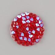 Crystal Rocks Swarovski samolepící - Crystal LIGHT SIAM SHIMMER na průhledném podkladu - 15mm