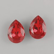 Slzička Swarovski Elements 4320 - Scarlet F - 10mm