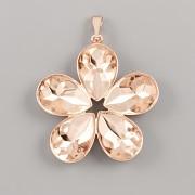 Přívěsek SUMMER pro Slzičku Swarovski Elements 4320 - růžové zlato
