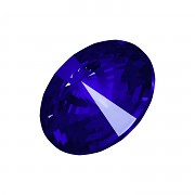 Swarovski Rivoli 1122 – Majestic Blue Foiled - 18mm