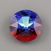 Round Stone Swarovski Elements 1201 – Meridian Blue Foiled – 27mm