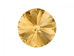 Swarovski Elements Rivoli 1122 – Light Colorado Topaz Foiled – 12mm