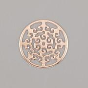 Přívěsek INDIE PRO NÁRAMKY NA ŠŇŮRCE - Ag925 růžové zlato