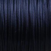 Šnůrka SATÉNOVÁ - tmavě modrá - 1mm