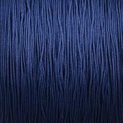 Šnůrka SPLÉTANÁ - námořnická modrá - 0,5mm