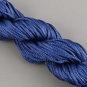 Šnůrka SPLÉTANÁ - námořní modrá- 1mm