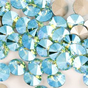 Swarovski Elements Rivoli 1122 – Light Turquoise Blue AB F – 8mm