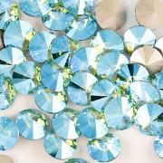 Swarovski Elements Rivoli 1122 – Light Turquoise Blue AB F – 8mm